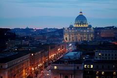 Castel Sant'Angelo - St. Peter @ Night