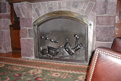 Fireplace at Villas at Wilderness Lodge (CharacterHunters) Tags: vwl waltdisneyworldchristmas villasatwildernesslodge