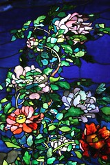 Stained glass (desbah) Tags: flowers window glass stained nationalportraitgallery stainedglasscolors