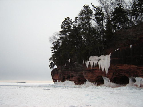 Apostle Islands Sea Caves.