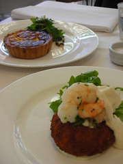starters at The Art Gallery Restaurant (SA)