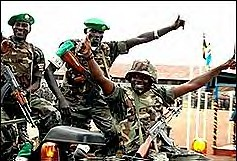 African Union Peacekeeping Troops arriving in Somalia. The contingent is supposed to stabilize the country after a US-backed invasion by Ethiopia had sparked a guerrilla movement  aimed at removing foreign occupation. by Pan-African News Wire File Photos