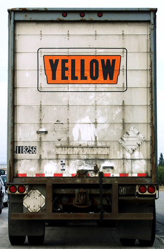 This is not a yellow truck.