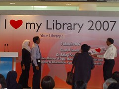 """I Love My Library 2007"" - The Launch"