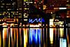 Aquarium (Aaron Webb) Tags: skyline night baltimore baltimoremd baltimoreharbor baltimoreskyline calendar07