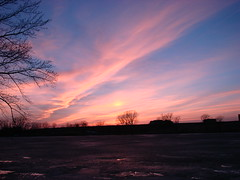 mckinnley sunset 003 (turtlesuit) Tags: winter sunset sky frozenlake
