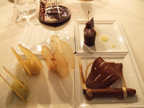 l'Aubergade (Puymirol, France) - Desserts