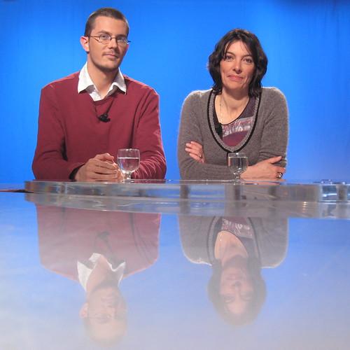 Pierre Beaudouin (Wikimedia FR) et Sophie Gautier(OOo