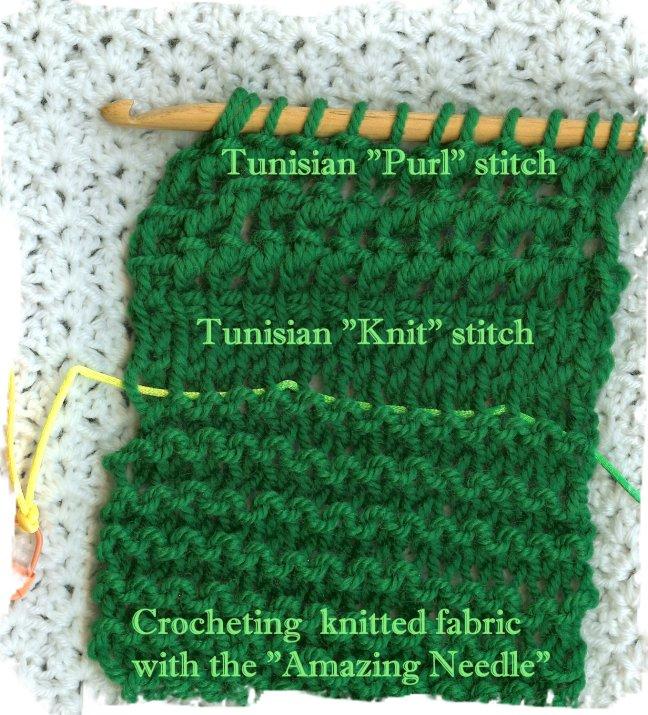 Crochetingwithdee Amazing Needle Vs Tunisian Crochet