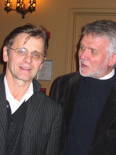 Mikhail Baryshnikov and Dr. Peter Green at Paul Taylor Dance Co.