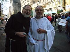 Franciscan Brothers Richard and Alan (?) at th...