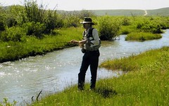 Cottonwood Creek (Crick3) Tags: me creek fishing cottonwood wyoming trout thebiggestgroup 3waytheme marbleton