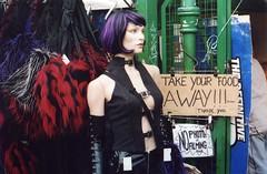 """Take Your Food Away!"", London, 2005"