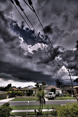 Big Storm (alexkess) Tags: house storm como clouds nikon sydney suburbia australia nsw d200 hdr my