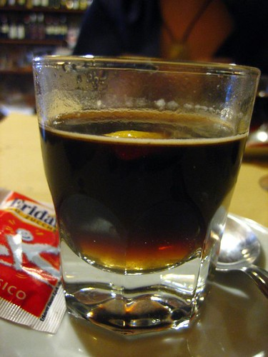 Ponce alla Livornese (Livorno Punch) - coffee and liquor
