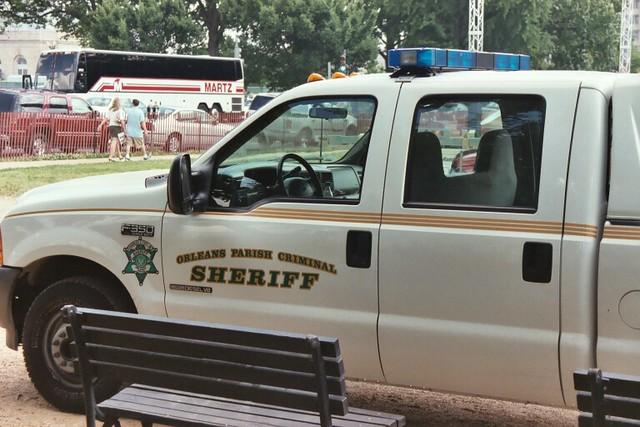 ford parish orleans criminal sheriff f250