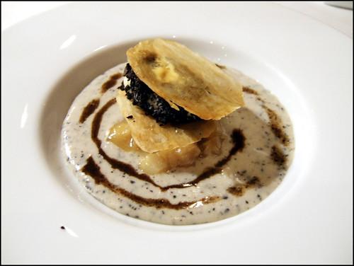 Pierre Gagnaire (Paris) - Creme glacee de pomme de terre agria, veloute de legumes d'hiver