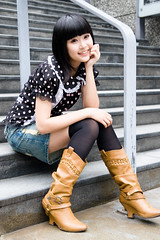 Akina (swanky) Tags: portrait people woman cute girl beautiful beauty smile face canon asian eos md model women asia pretty sweet femme taiwan babe belle taipei   tamron taiwanese 2007   30d   dcview  akina a16      1750mm      tamronspaf1750mmf28xrdiiildasphericalifmodela16   emiruemirue mtv mtv ak