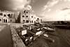 Marettimo, scalo nuovo (kenyai) Tags: italy italia nuvole mare barche porto sicilia isola egadi marettimo canon30d interestingness49 pescherecci i500 canonefs1022