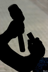 Mãos.... (Boarin) Tags: arte martelo soe mãos artesão