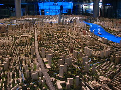 The largest model of a city in the world. The model occupies an area of over 100 square metres and is in 1:2000 scale. [IMG_1690]