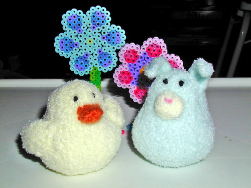 Just Crafty Enough ? Free Pattern ? Some Easter Peeps
