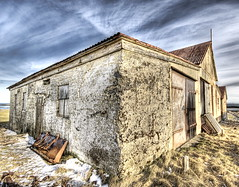 The Ruined House (Stuck in Customs) Tags: old sky house