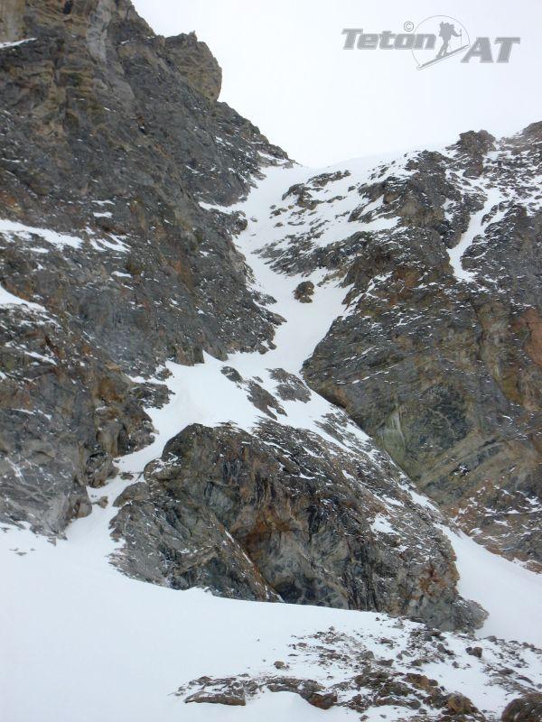 North Couloir-West Peak, Buck Mountain