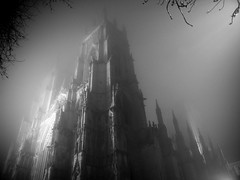 York Minster in the Fog - by karlequin