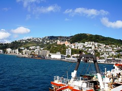 View from the Overseas Passenger Terminal (ohsarahrose) Tags: waterfront wellington 25thmarch2007