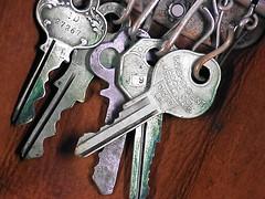 keys (dlofink) Tags: old keys key cluster group chain dlofink