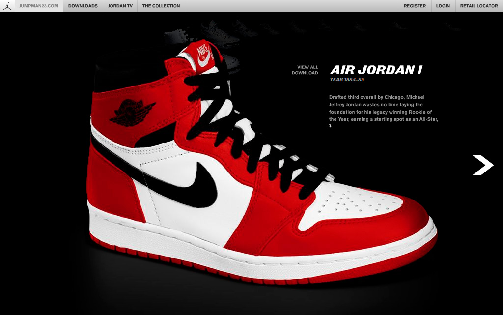 The official site of the Jordan Brand