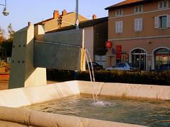 Fontaine - eau en mouvement