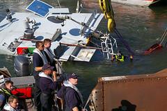 Schiffsunglück auf dem Rhein 08.04.07 (Tag 2)