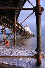 EASTBOURNE PIER (pg tips2) Tags: sea england people sun seascape dusty sussex coast pier seaside rust waves tide rusty resort eastbourne visitors southcoast crusty promanade
