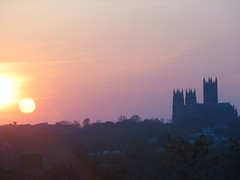 National Cathedral Sunset