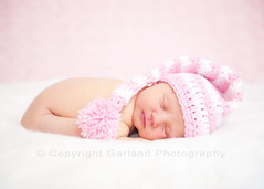 Sugary Sweet (Bel {Garland Photography}) Tags: pink newborn elfhat