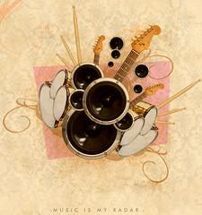 music is my radar (medialunadegrasa) Tags: music blur collage juancarlos
