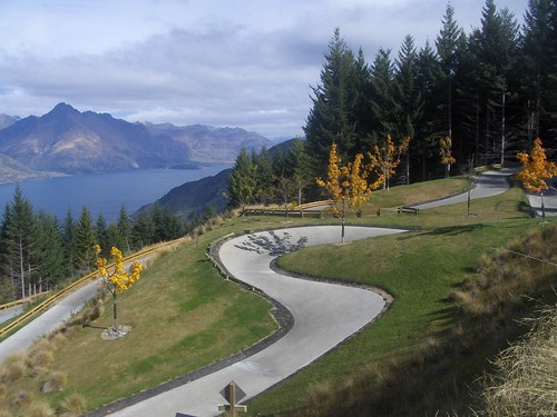 Luge Over Queenstown