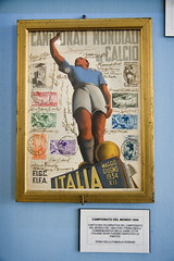 Football glory during Italy's fascist era