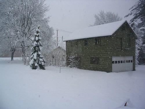 Snow, Mid-April