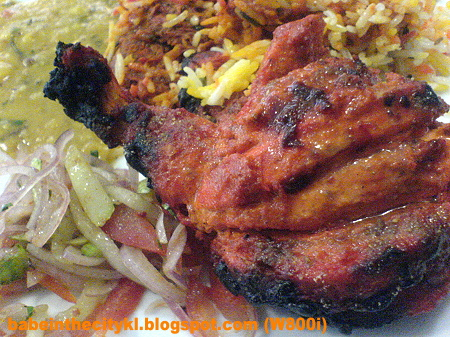 Aryan - tandoori chicken