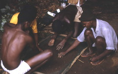 Archaeology team at Kamabai Rock Shelter, Sierra Leone (West Africa) (gbaku) Tags: pictures africa west archaeology rock work photo 60s photos african picture caves photographs photograph westafrica afrika cave 1960s anthropologie shelter prehistoire prehistoric archaeological archeology sixties anthropology shelters africain afrique excavation prehistory africaine arqueologa excavations archeologia archaeologist preistorico westafrican archaeologists limba preistoria  urgeschichte afrikas kamabai vorgeschichte
