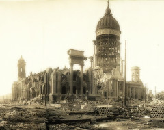 The Ruins of San Francisco (farlane) Tags: sanfrancisco california notmine earthquake libraryofcongress 1906 april18