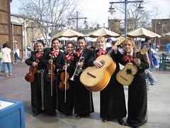 The Mariachi Divas pose for a pic. (03/25/07)