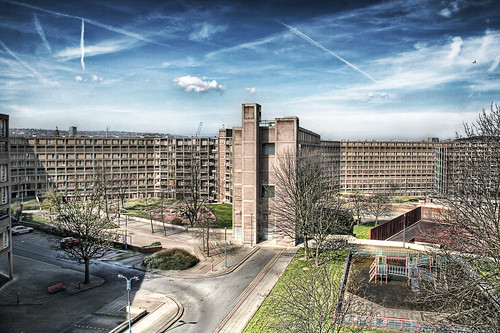 park hill [residential area in sheffield]