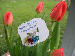 Stitch Markers from Celena