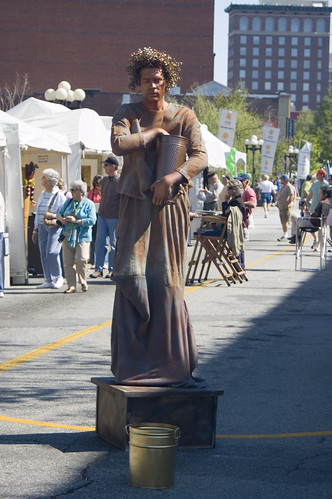 human statue 1