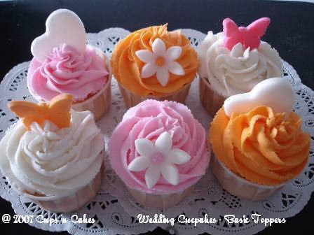 Fondant Hearts, Flowers & Butterflies_1