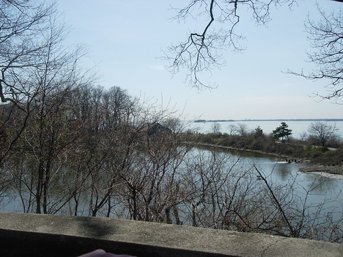 View of Long Island Sound From the Secret Garden